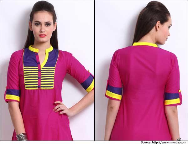 Beautiful Kurtis Tunics Neck-Gala Designs for Women (2)