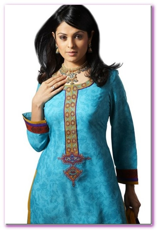 Beautiful Kurtis Tunics Neck-Gala Designs for Women (3)
