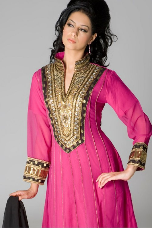 Beautiful Kurtis Tunics Neck-Gala Designs for Women (4)