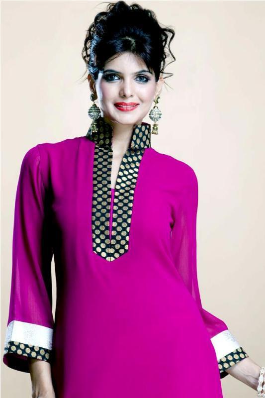 Beautiful Kurtis Tunics Neck-Gala Designs for Women (5)