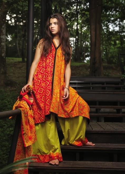Beautiful Kurtis Tunics Neck-Gala Designs for Women (8)