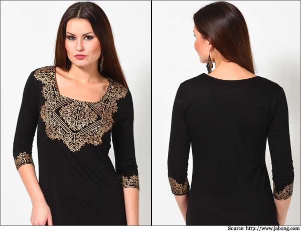 Beautiful Kurtis Tunics Neck-Gala Designs for Women (9)