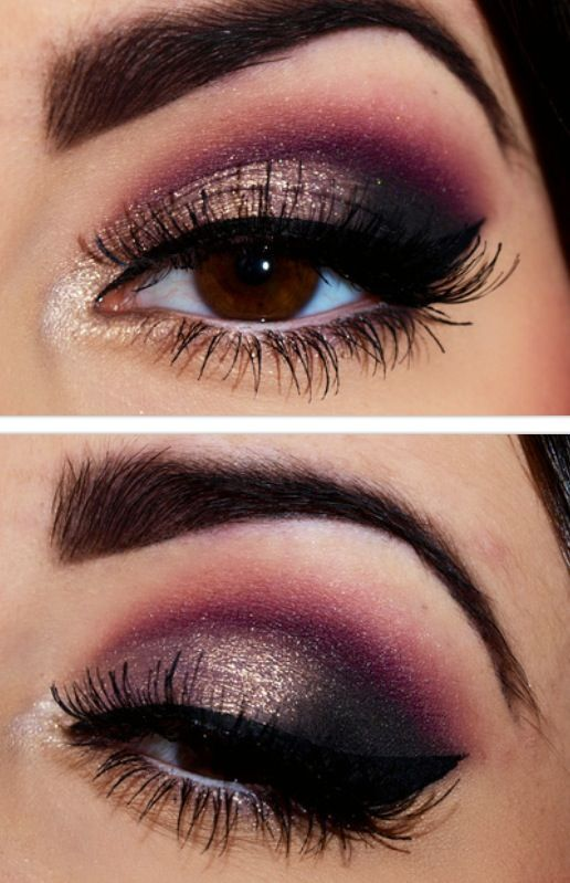Best Smokey Eye Make-up Step By Step Tutorial and Ideas with Pictures (12)