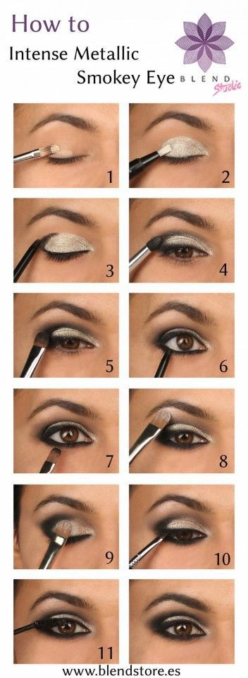 Best Smokey Eye Make-up Step By Step Tutorial and Ideas with Pictures (13)