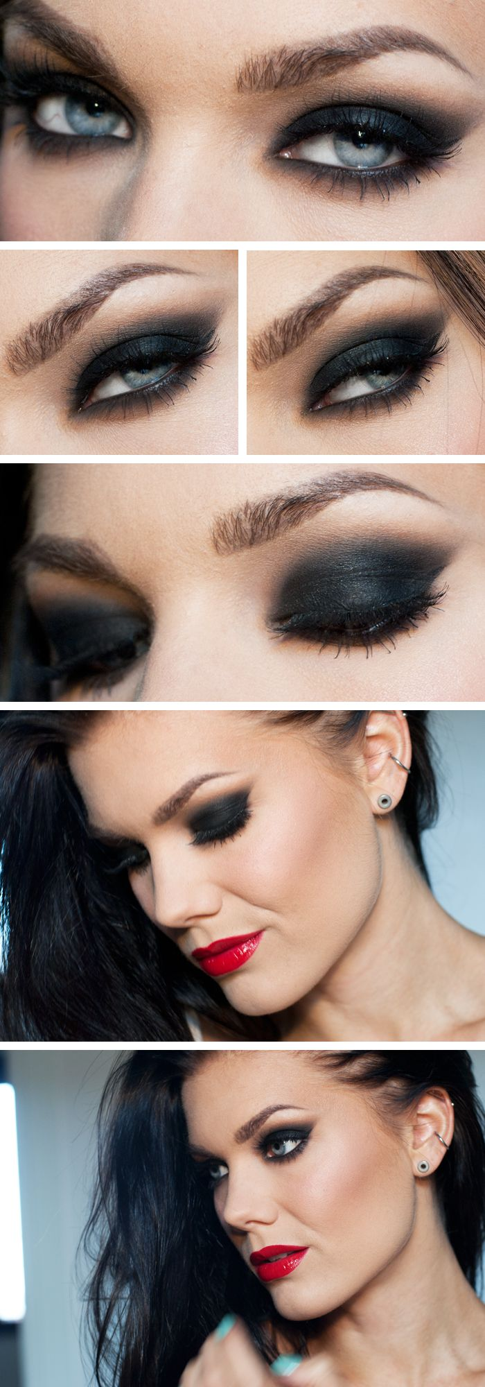 Best Smokey Eye Make-up Step By Step Tutorial and Ideas with Pictures (14)