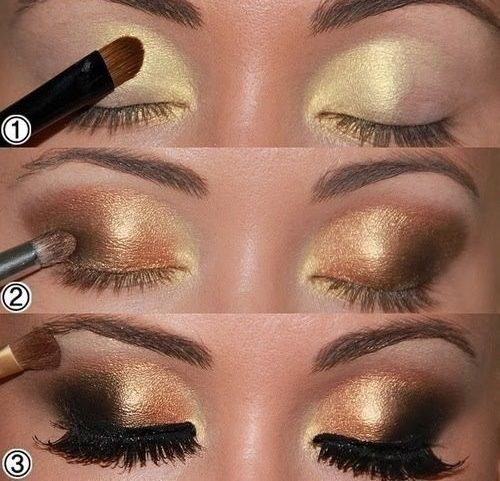 Best Smokey Eye Make-up Step By Step Tutorial and Ideas with Pictures (15)