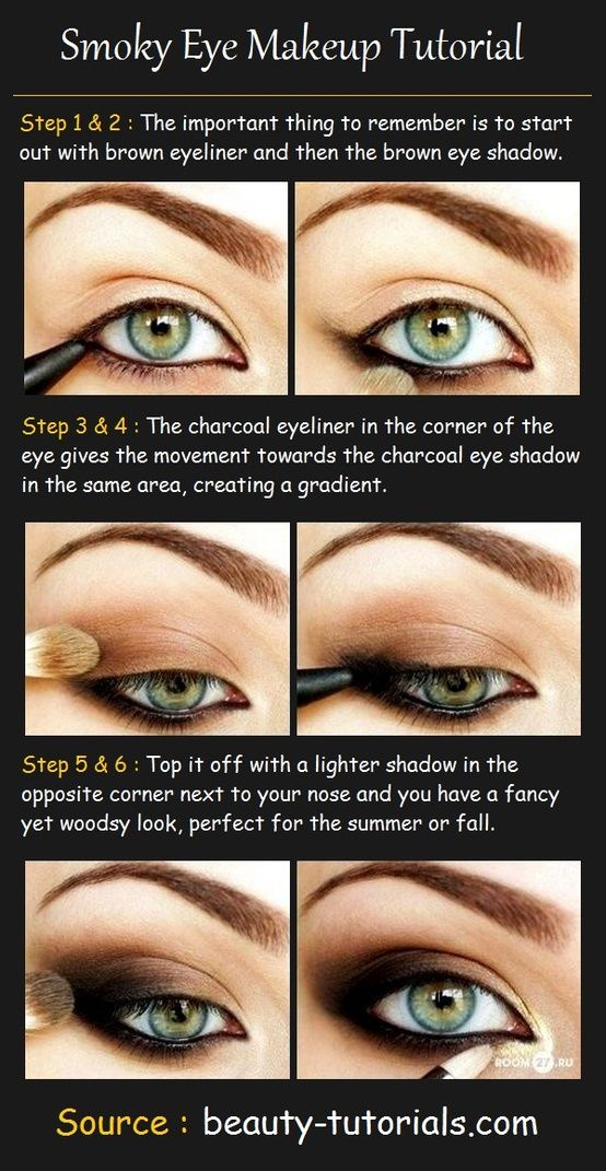 Best Smokey Eye Make-up Step By Step Tutorial and Ideas with Pictures (3)