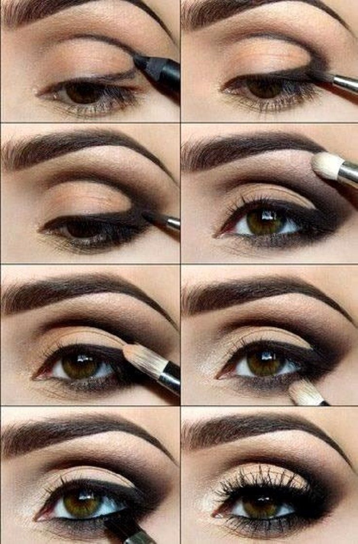 Best Smokey Eye Make-up Step By Step Tutorial and Ideas with Pictures (5)