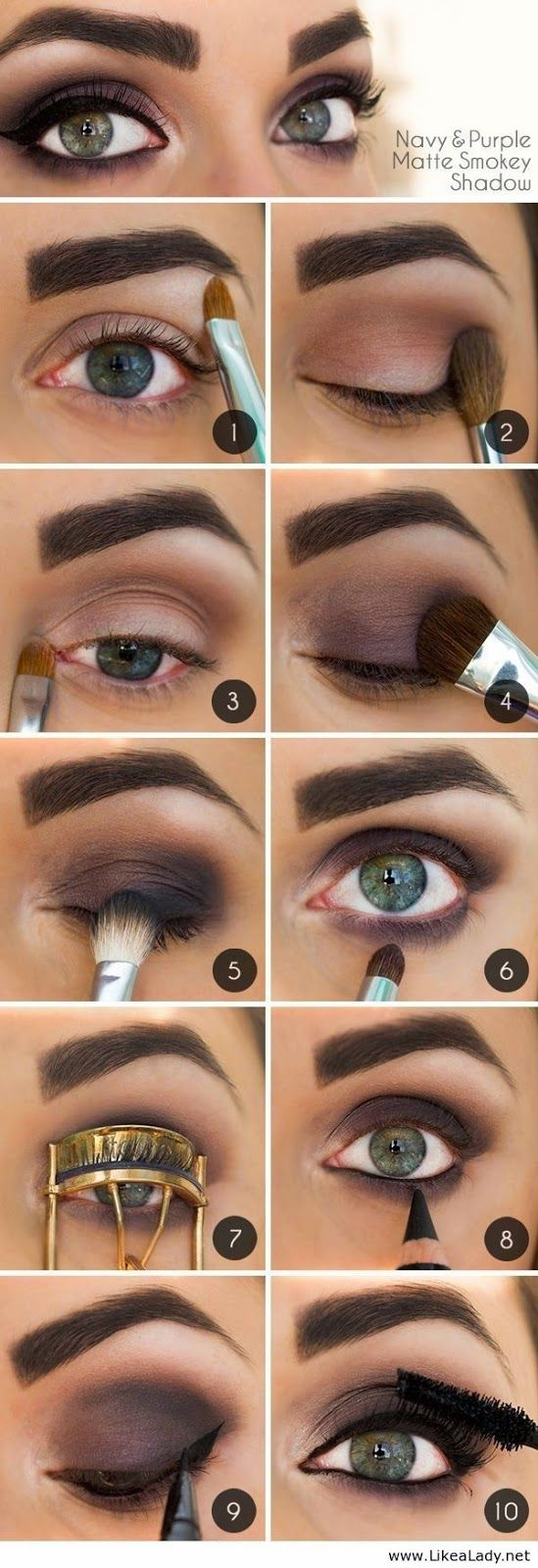 Best Smokey Eye Make-up Step By Step Tutorial and Ideas with Pictures (6)