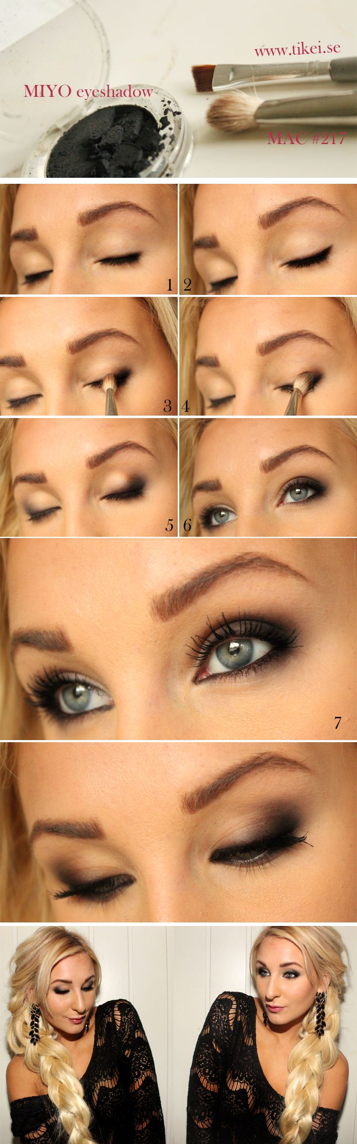 Best Smokey Eye Make-up Step By Step Tutorial and Ideas with Pictures (7)