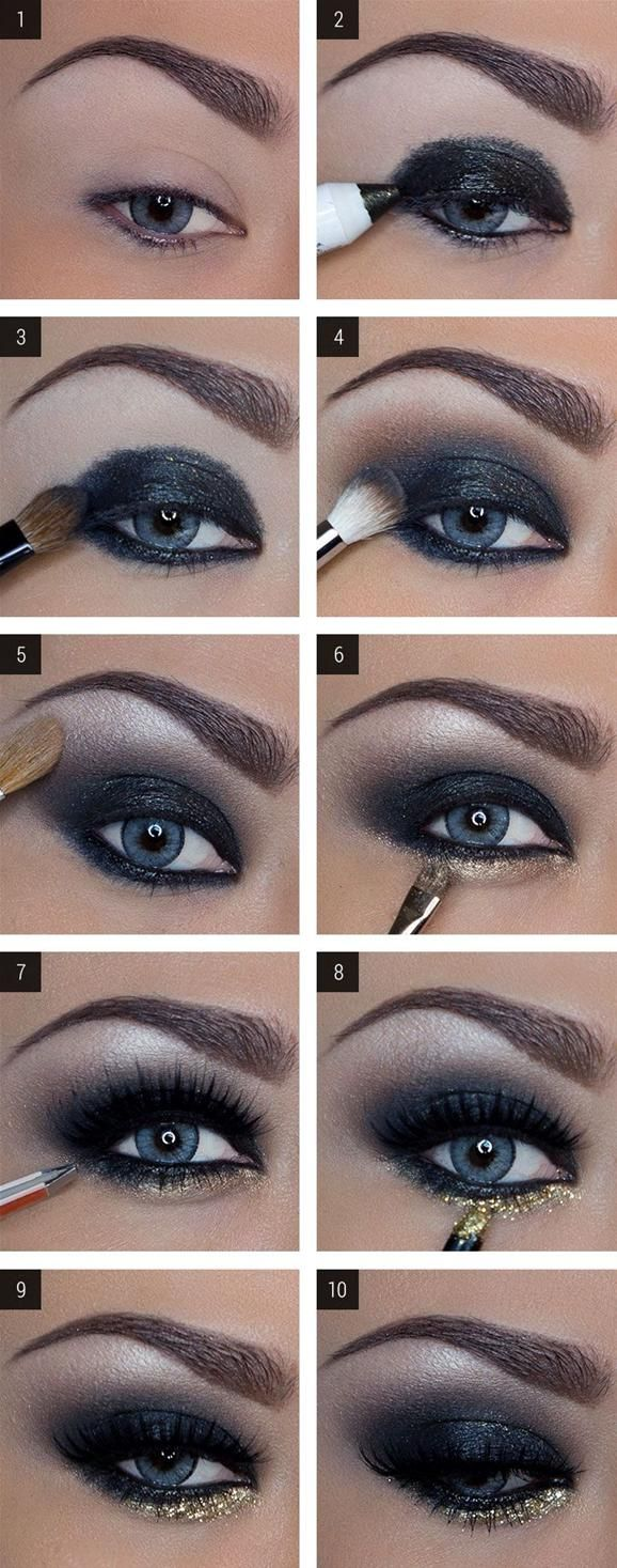 Best Smokey Eye Make-up Step By Step Tutorial and Ideas with Pictures (8)
