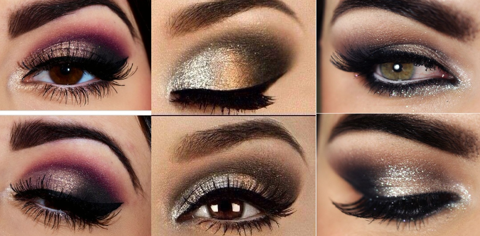 best smokey eye make up step by step tutorial and ideas. Black Bedroom Furniture Sets. Home Design Ideas