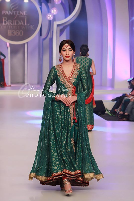 Fashion style Angrakha bridal style dresses for weddings for girls