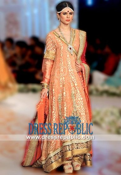 Latest Angrakha Style Dresses Designs 2016 2017 Collection