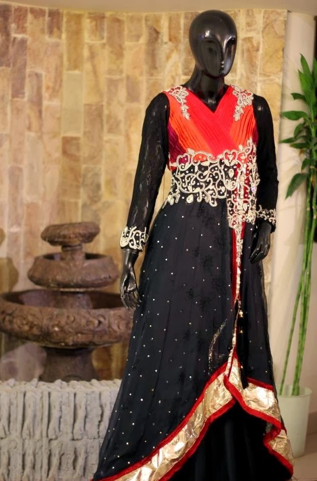 Fancy and Embroidered Neck Gala Designs for Party Wear Formal Shirts (6)