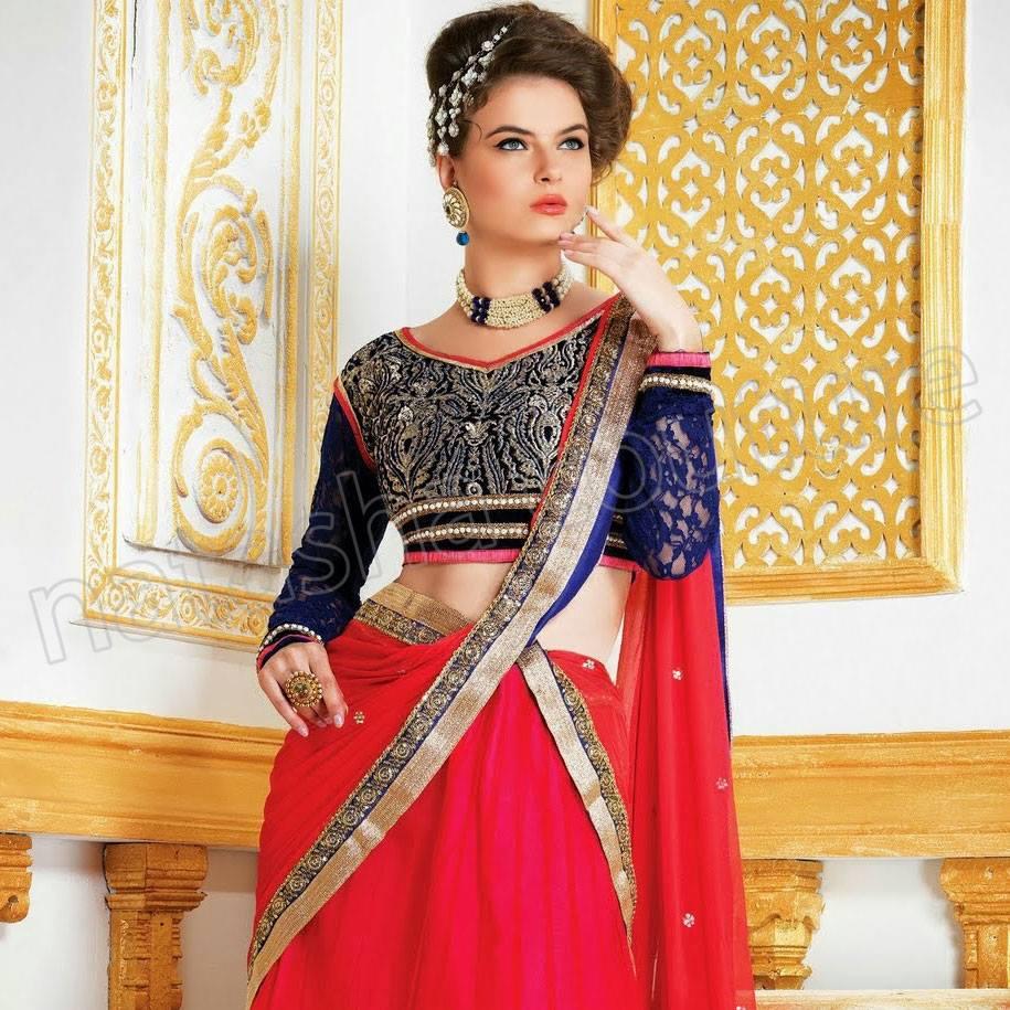 Indian Embroidered Neckline Designs for Salwara Kameez & Churridar Suits (7)