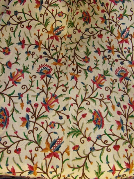 Kashmiri Hand Embroidered Shawls Designs Collection for Women (10)