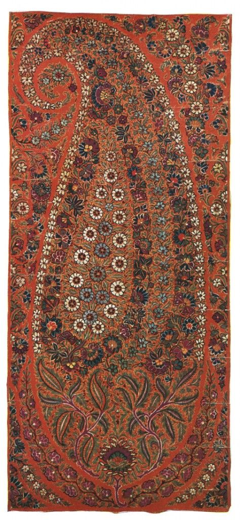 Kashmiri Hand Embroidered Shawls Designs Collection for Women (14)
