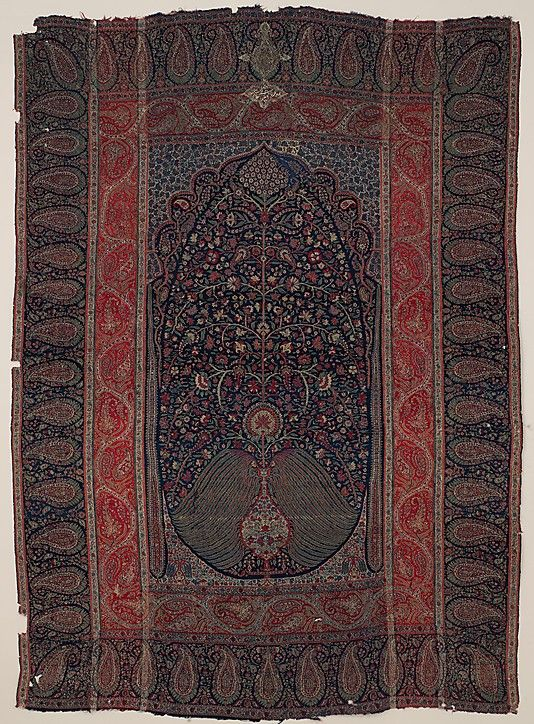 Kashmiri Hand Embroidered Shawls Designs Collection for Women (16)