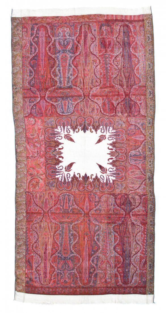 Kashmiri Hand Embroidered Shawls Designs Collection for Women (6)
