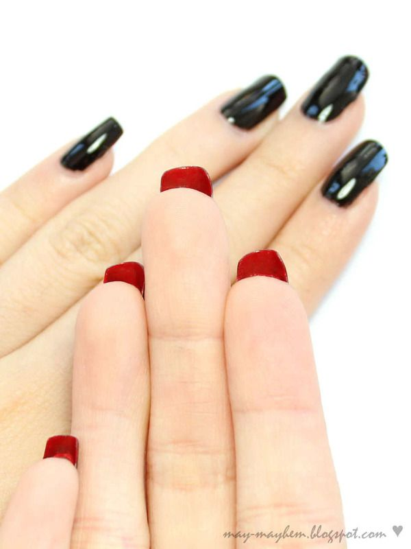 LOUBOUTIN INSPIRED NAIL ARTS for your romantic valentines day (4)