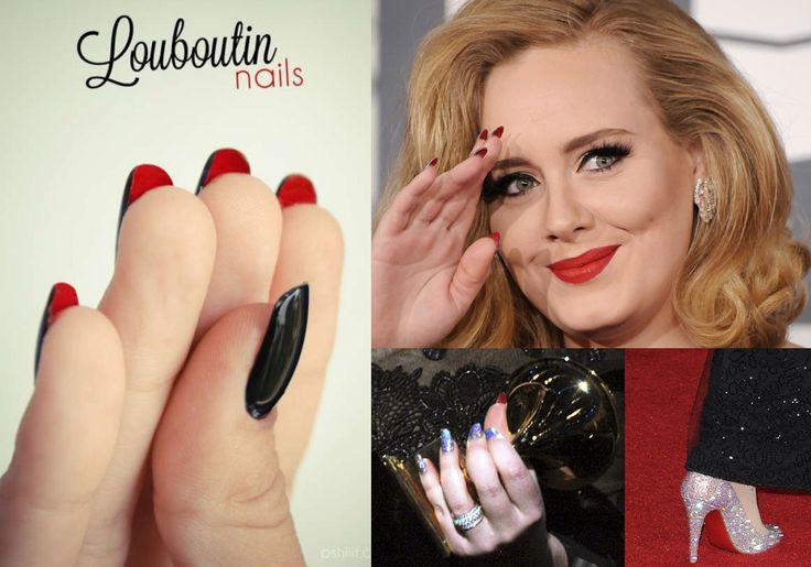 LOUBOUTIN INSPIRED NAIL ARTS for your romantic valentines day (5)