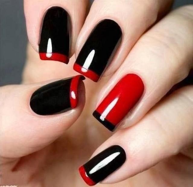LOUBOUTIN INSPIRED NAIL ARTS for your romantic valentines day (6)
