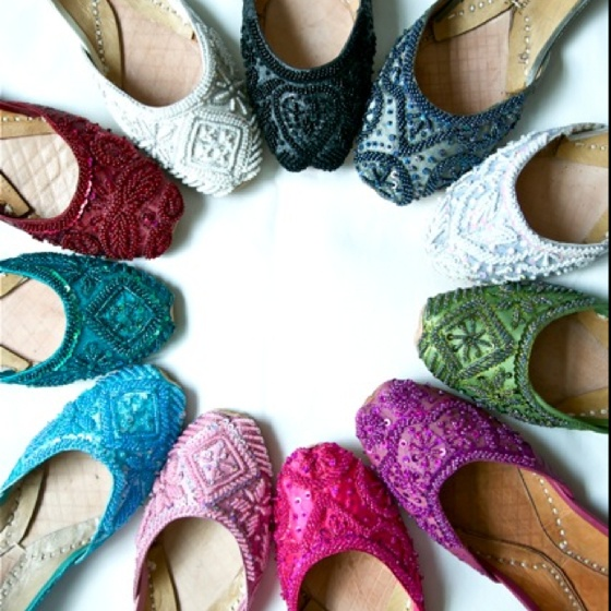 Punjabi Shoes Khussa Designs Trends 2015-16 in Asia ...