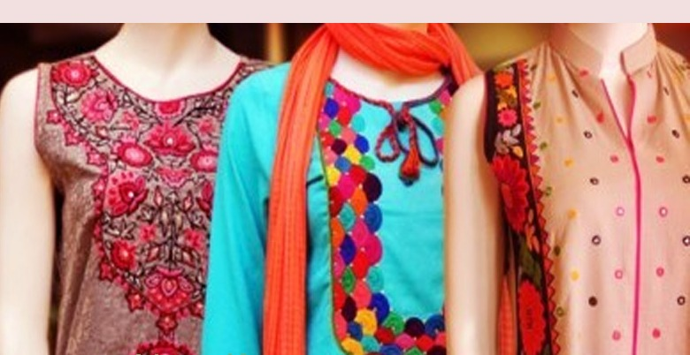 Latest Indian Pakistani Best & Stylish Neck-line (Gala) designs for Girls 2014-2015