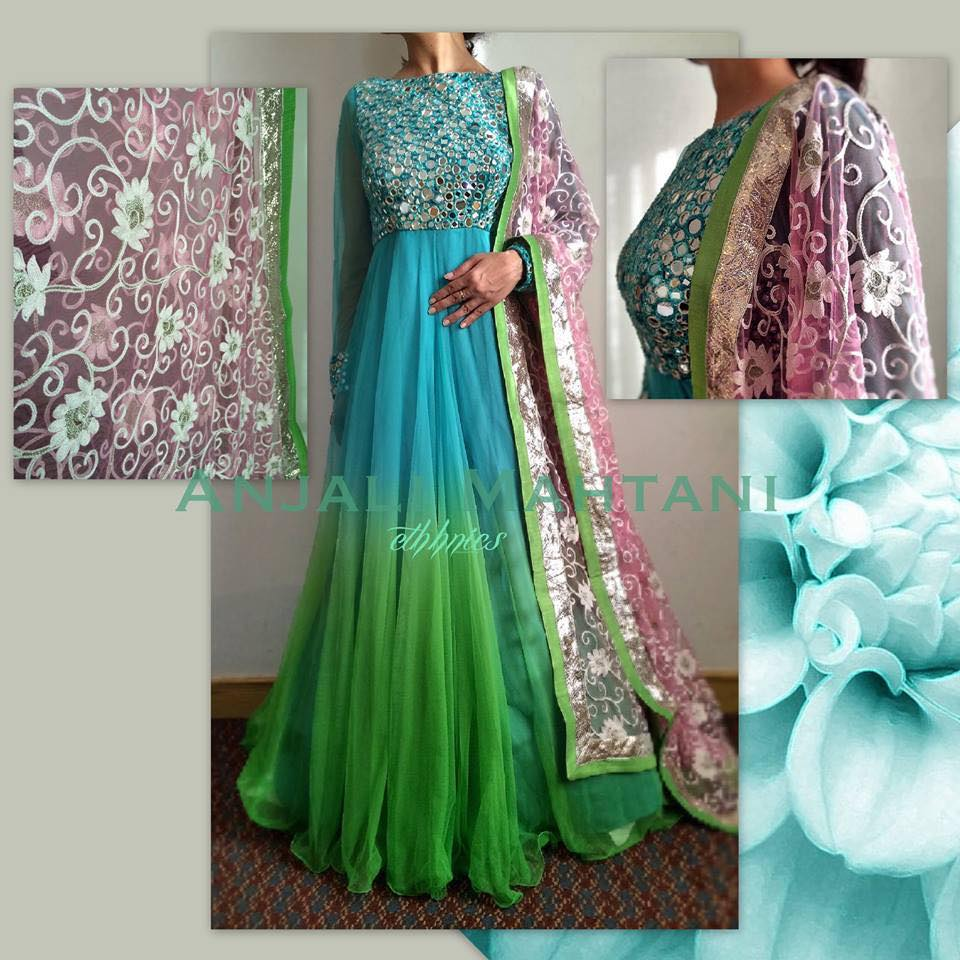 Latest Indian & asian Anarkali suits Pishwas Dresses & Long Frocks for women 2015-2016 (11)