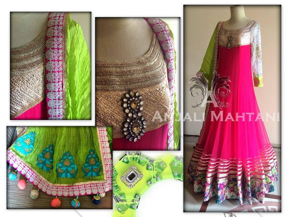 Latest Indian & asian Anarkali suits Pishwas Dresses & Long Frocks for women 2015-2016 (13)