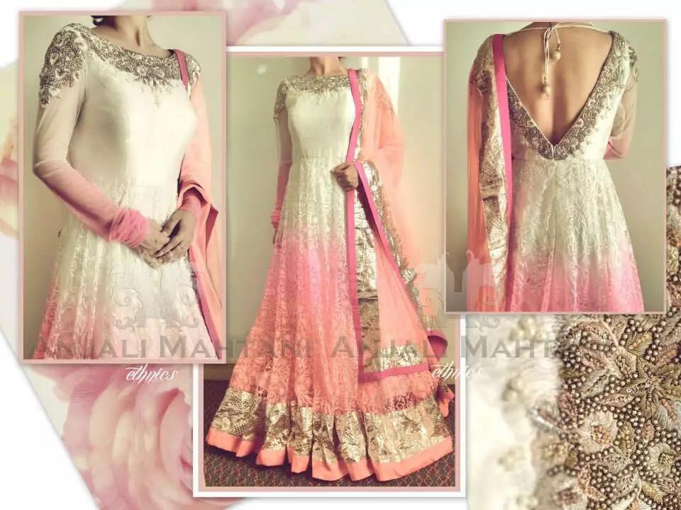 Latest Indian & asian Anarkali suits Pishwas Dresses & Long Frocks for women 2015-2016 (28)