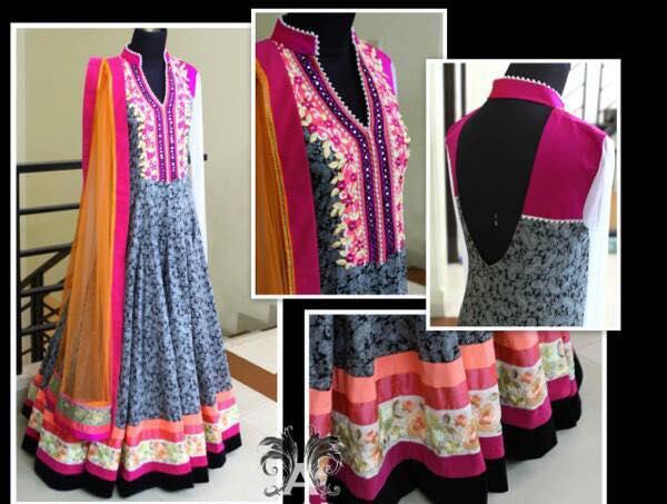 Latest Indian & asian Anarkali suits Pishwas Dresses & Long Frocks for women 2015-2016 (5)