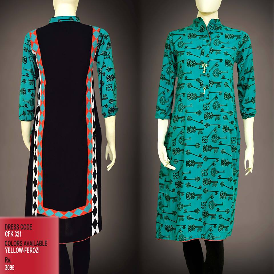 Latest Women Trendy & Stylish Kurta designs by Change Kurta Collection 2015-2016 (1)