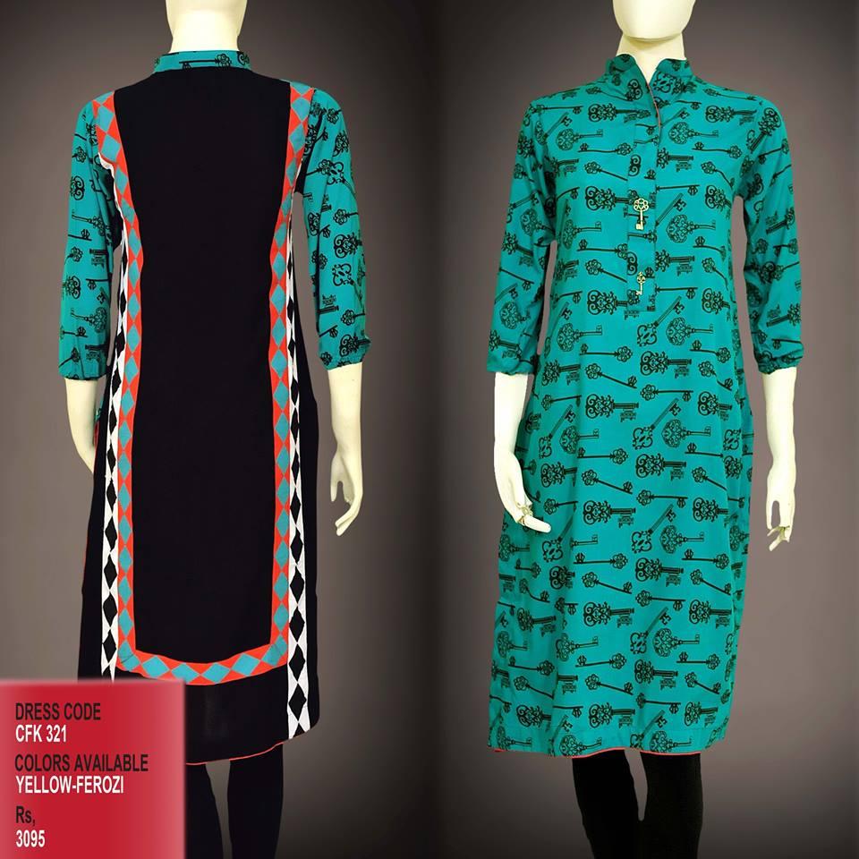 Latest Women Trendy & Stylish Kurta designs by Change Kurta Collection 2015-2016 (1)