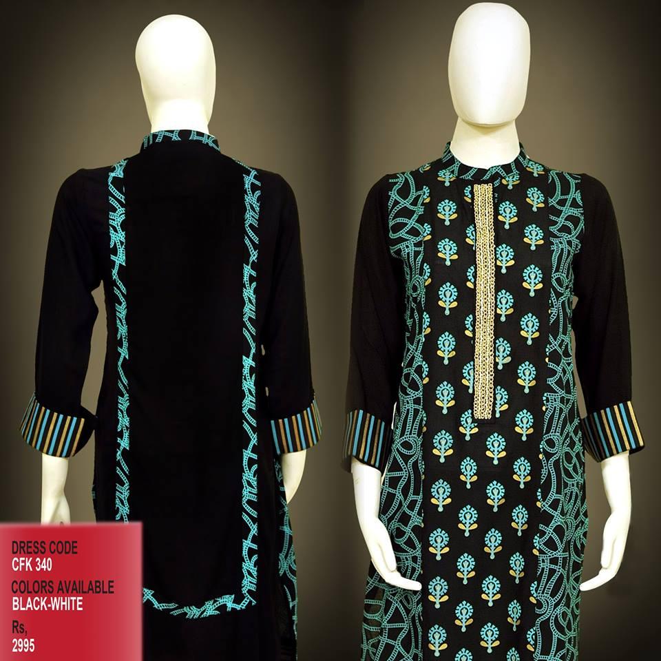 Latest Women Trendy & Stylish Kurta designs by Change Kurta Collection 2015-2016 (12)