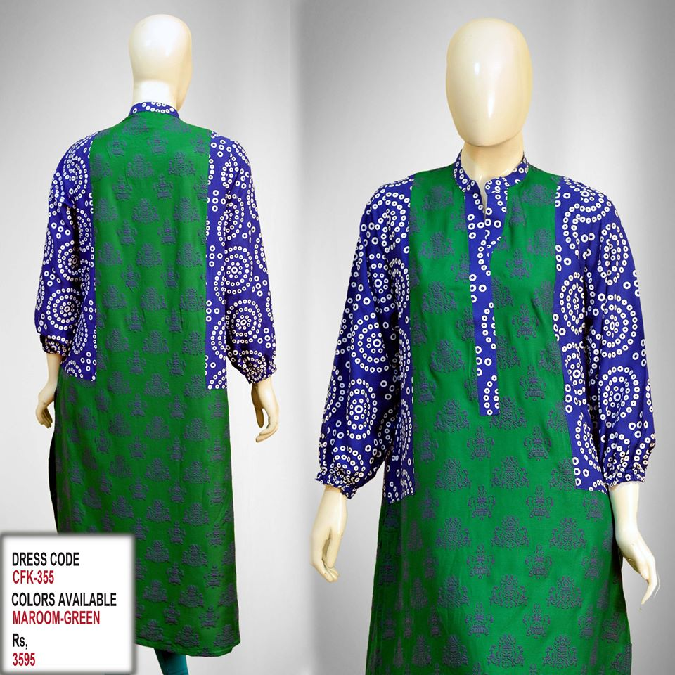Latest Women Trendy & Stylish Kurta designs by Change Kurta Collection 2015-2016 (13)