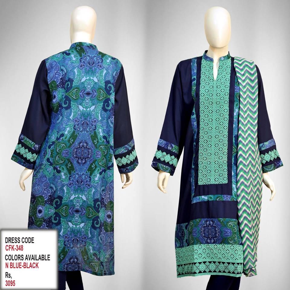 Latest Women Trendy & Stylish Kurta designs by Change Kurta Collection 2015-2016 (14)