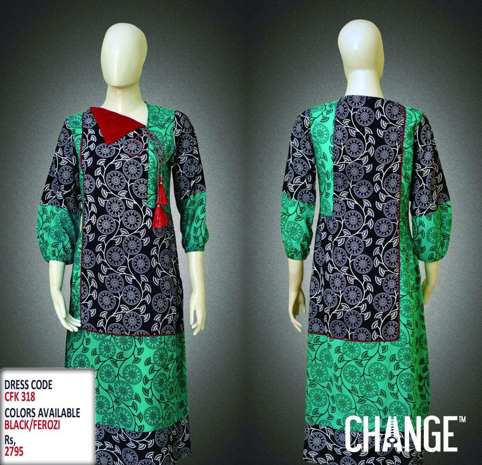 Latest Women Trendy & Stylish Kurta designs by Change Kurta Collection 2015-2016 (15)