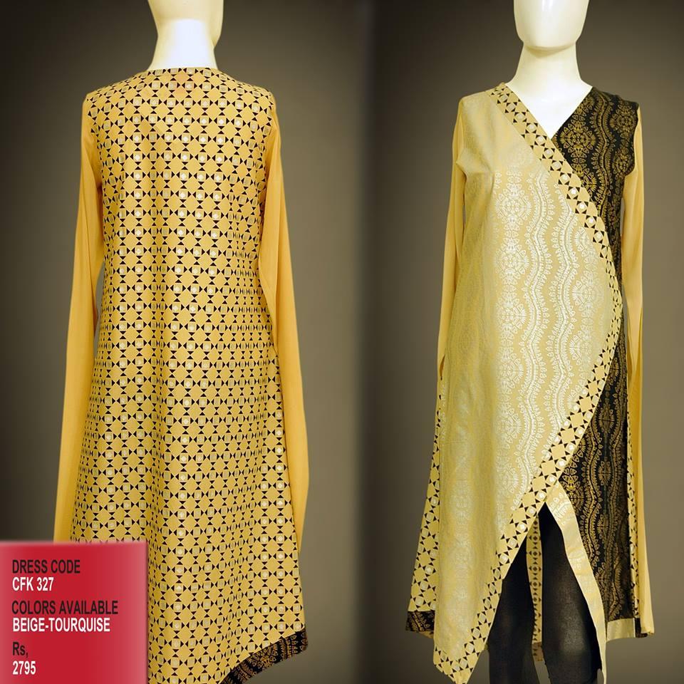 Latest Women Trendy & Stylish Kurta designs by Change Kurta Collection 2015-2016 (32)
