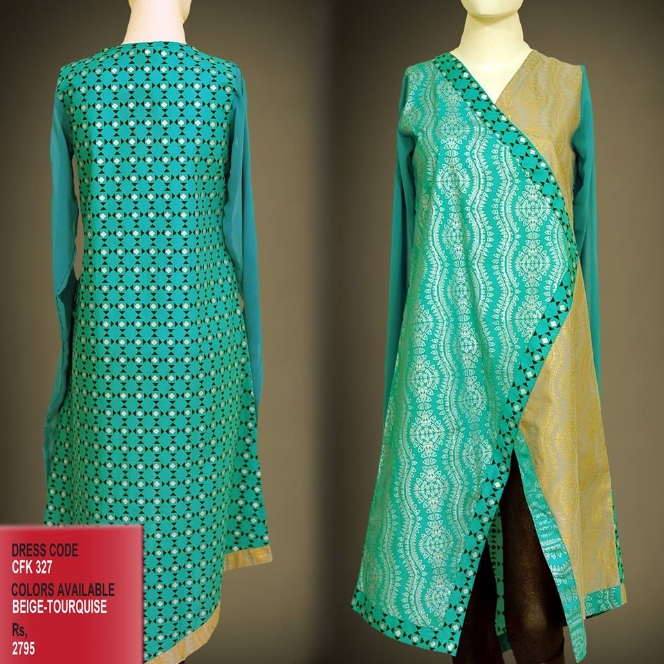 Latest Women Trendy & Stylish Kurta designs by Change Kurta Collection 2015-2016 (36)