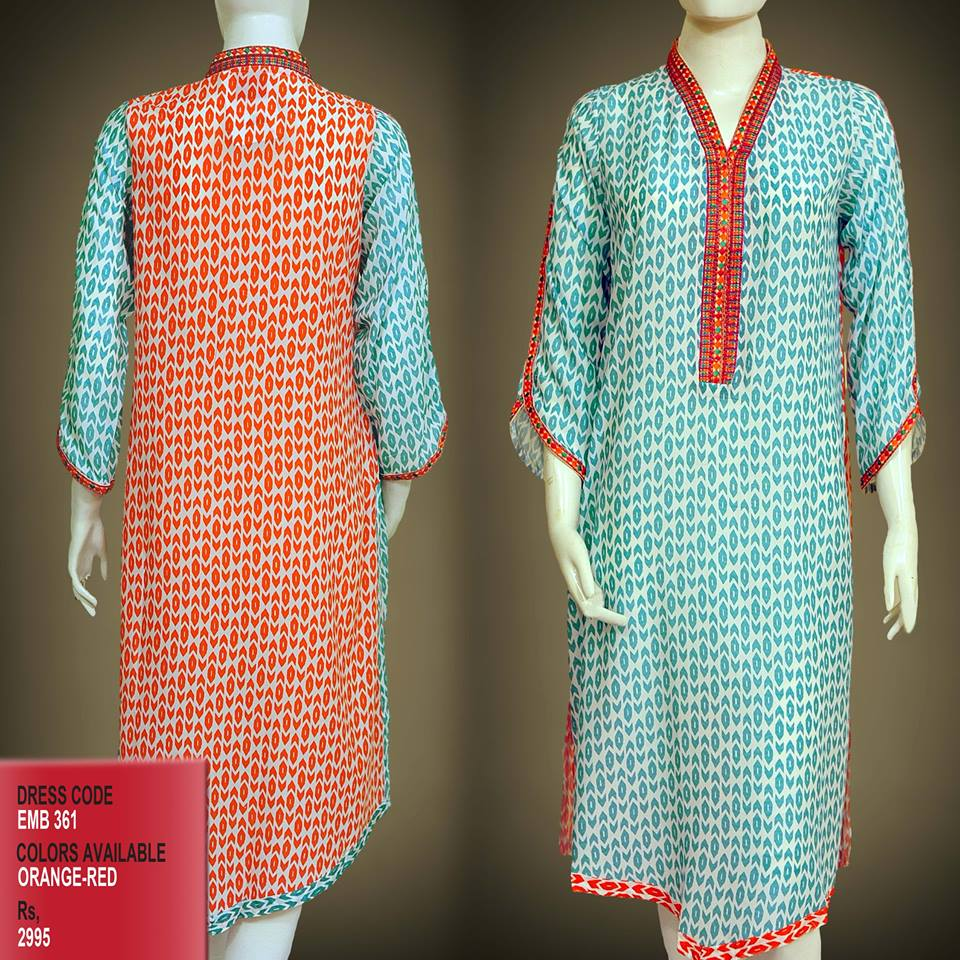 Latest Women Trendy & Stylish Kurta designs by Change Kurta Collection 2015-2016 (5)