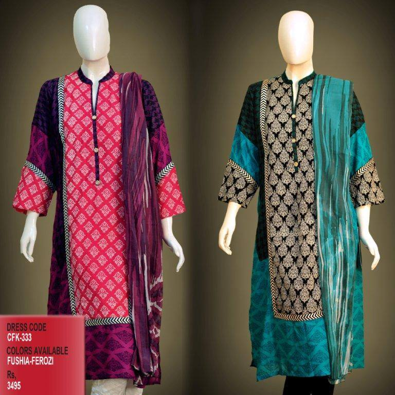 Latest Women Trendy & Stylish Kurta designs by Change Kurta Collection 2015-2016 (7)