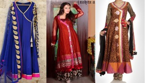 Latest Angrakha Style Dresses Designs Collection 2016-2017 for Women