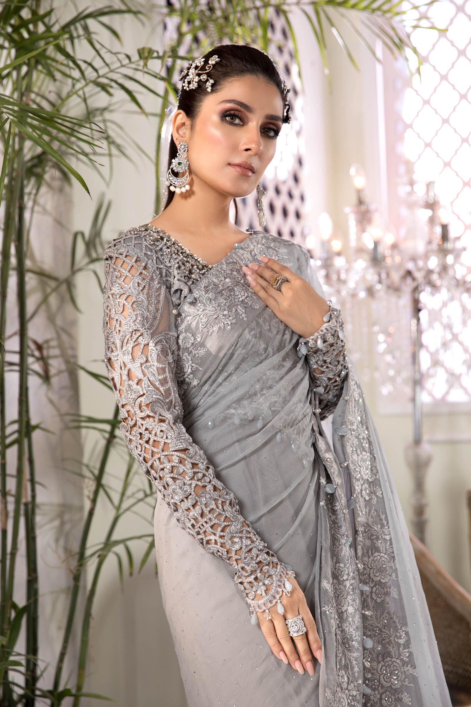 EMbroidered Fancy Suits Heritage Collection
