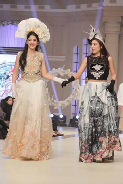 Maria B La Roseraie (The rose garden) Modern Bridal Dresses collection at Telenor Bridal Couture Week 2015 (1)