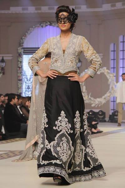 Maria B La Roseraie (The rose garden) Modern Bridal Dresses collection at Telenor Bridal Couture Week 2015 (11)