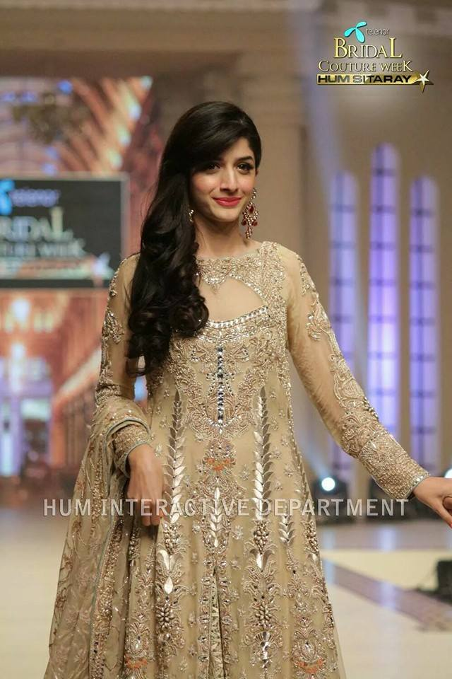 Maria B La Roseraie (The rose garden) Modern Bridal Dresses collection at Telenor Bridal Couture Week 2015 (17)