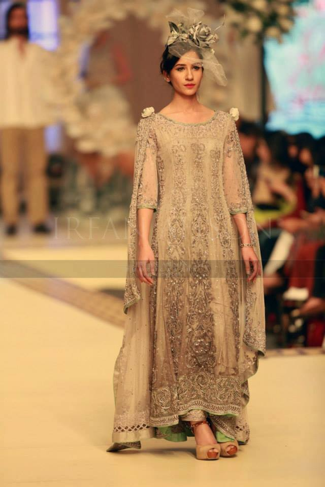 Maria B La Roseraie (The rose garden) Modern Bridal Dresses collection at Telenor Bridal Couture Week 2015 (18)