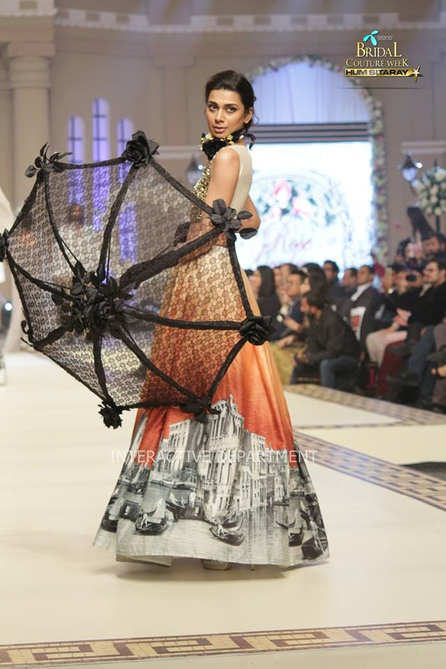 Maria B La Roseraie (The rose garden) Modern Bridal Dresses collection at Telenor Bridal Couture Week 2015 (20)